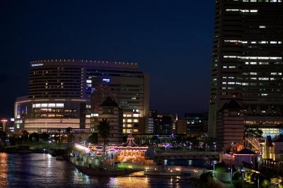soku_14754.jpg :: 風景 街並み 都市の風景 夜景 みなとみらい 横浜