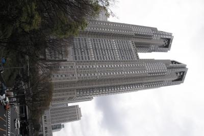 soku_14793.jpg :: 建築 建造物 高層ビル 東京都庁