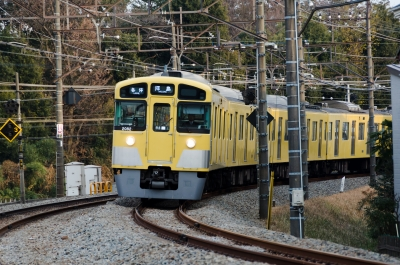 soku_14922.jpg :: 西武鉄道 拝島線 2000系