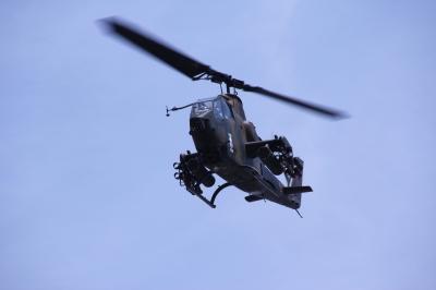 soku_15247.jpg :: 陸上自衛隊 飛行機 ヒコーキ 回転翼 対戦車ヘリコプター AH-1S コブラ