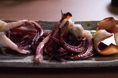 soku_15475.jpg :: 食べ物 和食 焼き物 イカゲソ