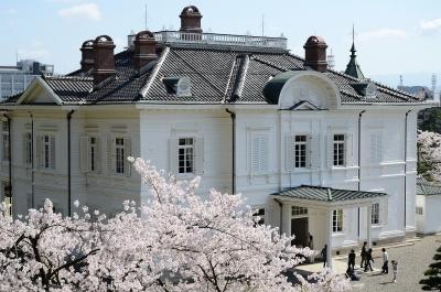 soku_15563.jpg :: 植物 花 桜 サクラ 建築 建造物 歴史的建造物