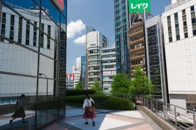 soku_15800.jpg :: 新宿 都市の風景 鏡像