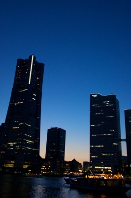 soku_15863.jpg :: 風景 街並み 都市の風景 夜景 みなとみらい