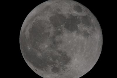 soku_15874.jpg :: ノートリ 2.0+2.0+1.4 トリプルテレコン 35mm換算2688mm F31.1 風景 自然 天体 月 満月 フルフルフルムーン by Niigata