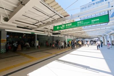 soku_16013.jpg :: 新宿駅 新南口 都市の風景
