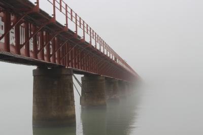 soku_16400.jpg :: 由良川橋梁 霧 川