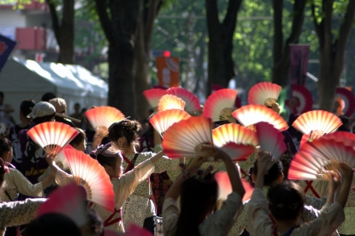 soku_16520.jpg :: 祭り 仙台 青葉まつり 人物 子供 少女 女の子 踊り