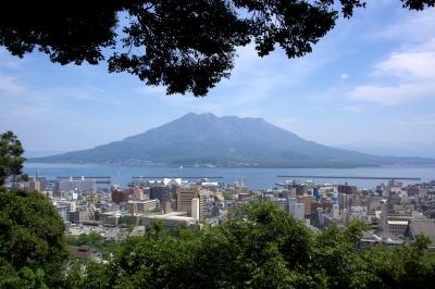 soku_16637.jpg :: 風景 自然 山 海 桜島 鹿児島