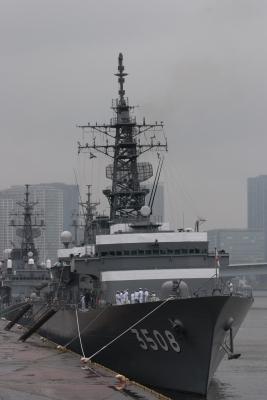 soku_16656.jpg :: 平成24年度遠洋練習航海 出航記念行事 東京港晴海埠頭 海上自衛隊 TV.3508 かしま Kashima