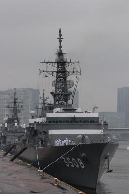 soku_16657.jpg :: 平成24年度遠洋練習航海 出航記念行事 東京港晴海埠頭 海上自衛隊 TV.3508 かしま Kashima