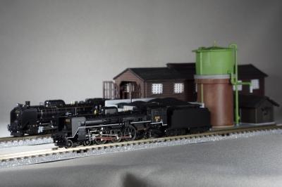 soku_17085.jpg :: 乗り物 交通 鉄道 蒸気機関車 鉄道模型