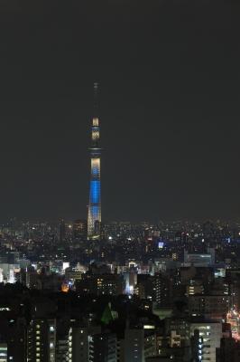 soku_17141.jpg :: 建築 建造物 塔 タワー 東京スカイツリー ライトアップ 夜景