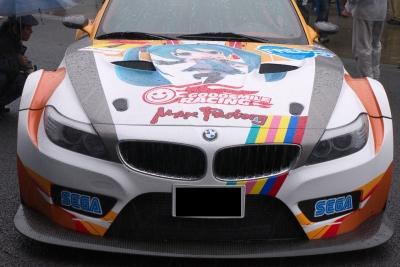 soku_17183.jpg :: 乗り物 交通 自動車 スポーツカー 初音ミク BMW