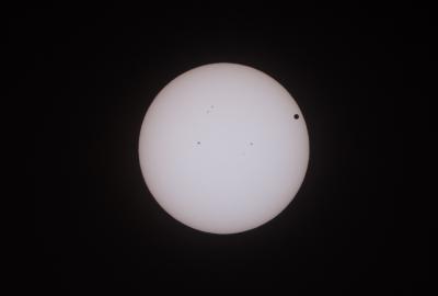 soku_17212.jpg :: 風景 自然 天体 太陽 金星太陽面通過 13時 @和歌山県田辺市