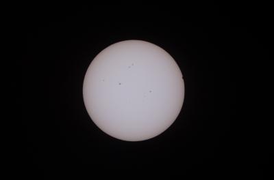 soku_17214.jpg :: 風景 自然 天体 太陽 金星太陽面通過 13:44 @和歌山県田辺市