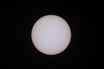 soku_17215.jpg :: 風景 自然 天体 太陽 金星太陽面通過 第四接触 13:47 @和歌山県田辺市