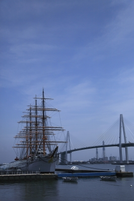 soku_17264.jpg :: 乗り物 交通 船 帆船 海王丸