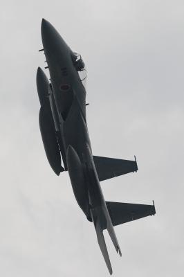 soku_17272.jpg :: F.15 機動飛行 飛行機 ヒコーキが足りない by 静浜基地航空祭