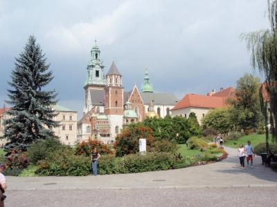 soku_17305.jpg :: ヴァヴェル城クラクフ 風景 街並み 都市の風景 海外 建築 建造物 城
