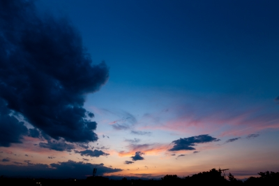 soku_17474.jpg :: 空 雲 夕暮れ
