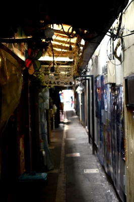 soku_17503.jpg :: のれん小路 吉祥寺 風景 街並み 都市の風景 路地裏