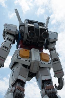 soku_17504.jpg :: オブジェ フィギュア ガンダム 巨大ガンダム お台場 ダイバシティ