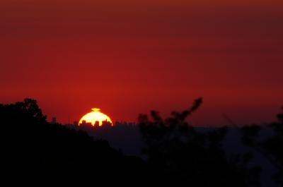 soku_17639.jpg :: 風景 自然 空 朝日 朝焼け 日の出