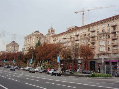 soku_17693.jpg :: ウクライナ キエフ 風景 街並み 都市の風景 外国