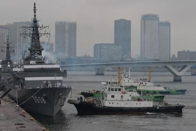 soku_17698.jpg :: 平成24年度遠洋練習航海 出航記念行事 東京港晴海埠頭 海上自衛隊 TV.3508 かしま Kashima