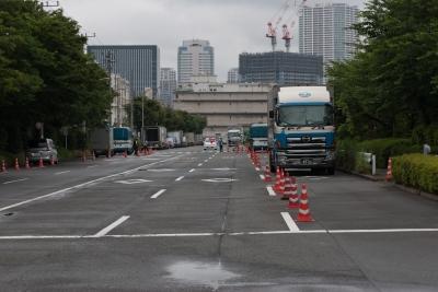 soku_17710.jpg :: 日米合同親善寄港 東京港晴海埠頭 艦艇入港 厳重警備