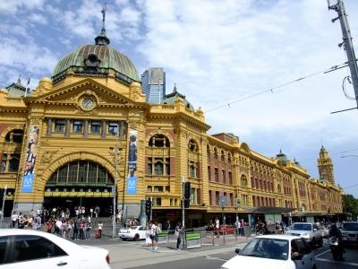 soku_17714.jpg :: オーストラリア メルボルン フリンダースストリート駅 風景 街並み 都市の風景 外国
