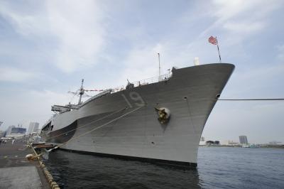 soku_17816.jpg :: 日米合同親善寄港 東京港晴海埠頭 米海軍 LCC.19 Blue Ridge ブルーリッジ