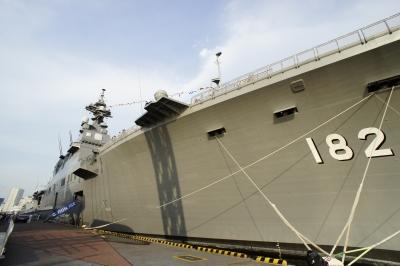 soku_17817.jpg :: 日米合同親善寄港 東京港晴海埠頭 海上自衛隊 DDH.182 いせ ise