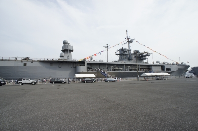 soku_17821.jpg :: 日米合同親善寄港 東京港晴海埠頭 米海軍 LCC.19 Blue Ridge ブルーリッジ