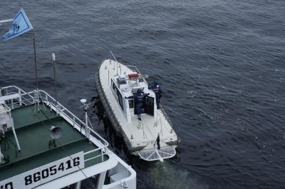 soku_17822.jpg :: 日米合同親善寄港 東京港晴海埠頭 海上保安庁 警備艇