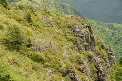 soku_18077.jpg :: 風景 自然 山 概観 崖