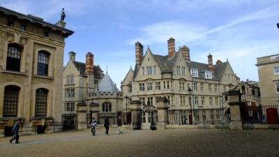 soku_18391.jpg :: イギリス オックスフォード 風景 街並み 学校 外国