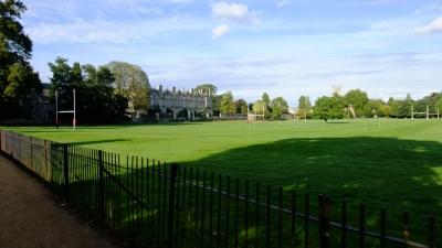 soku_18397.jpg :: イギリス オックスフォード 風景 街並み 学校 外国