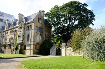 soku_18398.jpg :: イギリス オックスフォード 風景 街並み 学校 外国