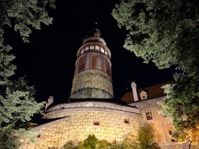soku_18820.jpg :: チェスキー・クルムロフ城 夜景