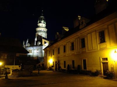 soku_18821.jpg :: チェスキー・クルムロフ城 夜景