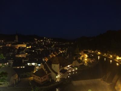 soku_18823.jpg :: チェスキー・クルムロフ城 夜景