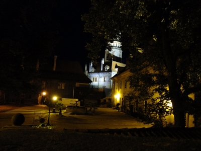 soku_18824.jpg :: チェスキー・クルムロフ城 夜景
