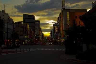 soku_18871.jpg :: 風景 街並み 都市の風景 夜景 浅草
