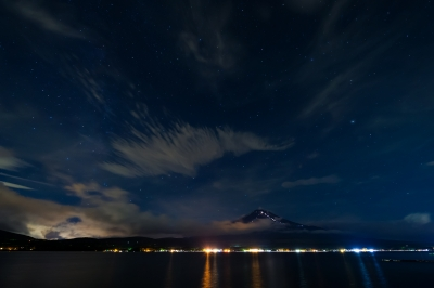 soku_19021.jpg :: 風景 自然 山 富士山 夜景