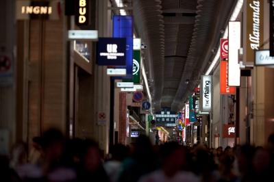 soku_19029.jpg :: 大阪 繁華街 アーケード