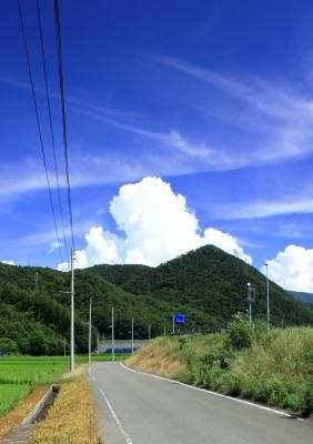 soku_19433.jpg :: 風景 自然 山 入道雲
