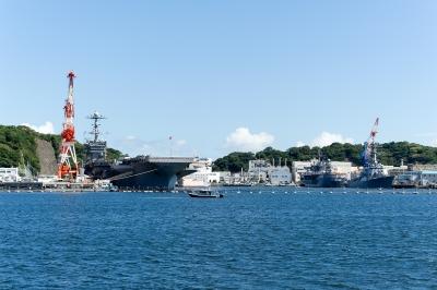 soku_19541.jpg :: 海 船 空母 ジョージ・ワシントン 横須賀 軍港めぐり