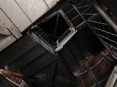 soku_19572.jpg :: PowerShotS95 風景 コンデジ埼玉 lock 空間 階段 十石峠展望台